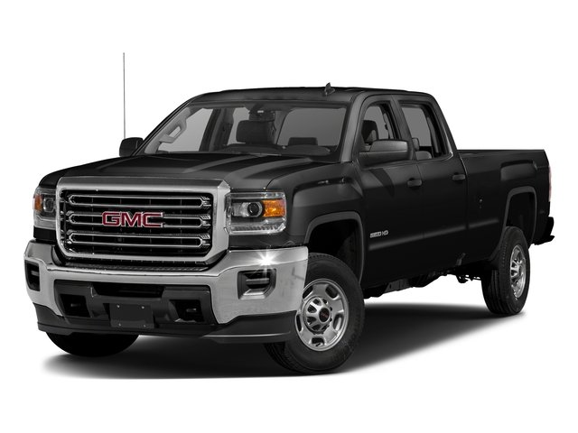 Onyx Black 2016 GMC Sierra 2500HD Pictures Sierra 2500HD Crew Cab 4WD photos front view