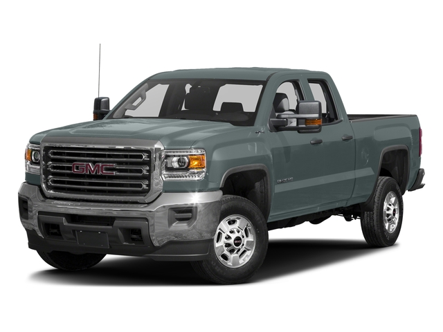 Light Steel Gray Metallic 2016 GMC Sierra 2500HD Pictures Sierra 2500HD Extended Cab 4WD photos front view