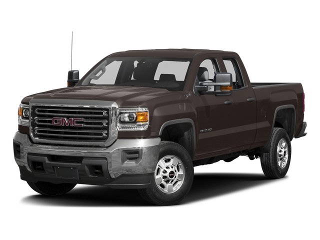 Mahogany Metallic 2016 GMC Sierra 2500HD Pictures Sierra 2500HD Extended Cab 4WD photos front view
