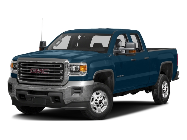 Stone Blue Metallic 2016 GMC Sierra 2500HD Pictures Sierra 2500HD Extended Cab 4WD photos front view