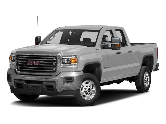 Quicksilver Metallic 2016 GMC Sierra 2500HD Pictures Sierra 2500HD Extended Cab 4WD photos front view