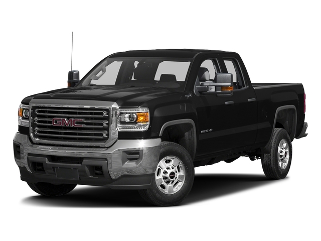 Onyx Black 2016 GMC Sierra 2500HD Pictures Sierra 2500HD Extended Cab 4WD photos front view