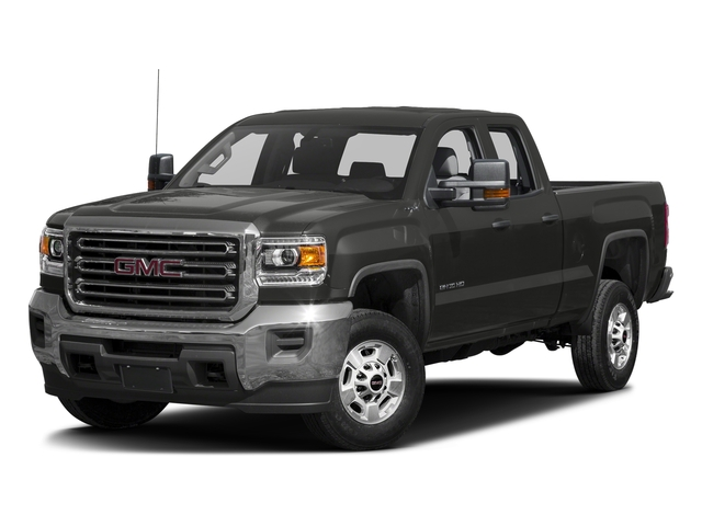 Iridium Metallic 2016 GMC Sierra 2500HD Pictures Sierra 2500HD Extended Cab 4WD photos front view