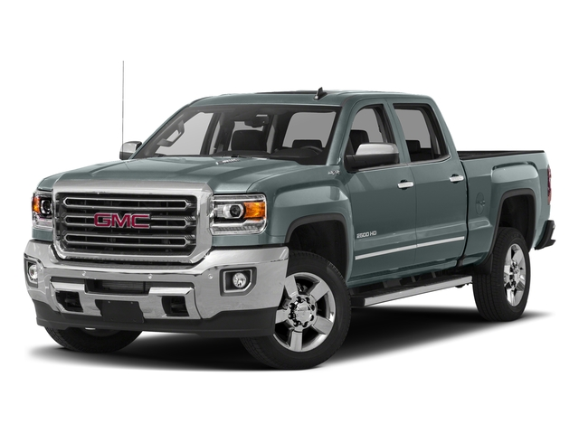 Light Steel Gray Metallic 2016 GMC Sierra 2500HD Pictures Sierra 2500HD Crew Cab SLT 2WD photos front view