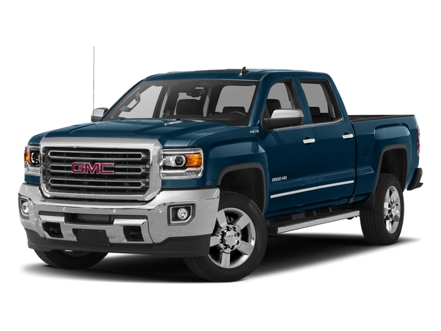 Stone Blue Metallic 2016 GMC Sierra 2500HD Pictures Sierra 2500HD Crew Cab SLT 2WD photos front view