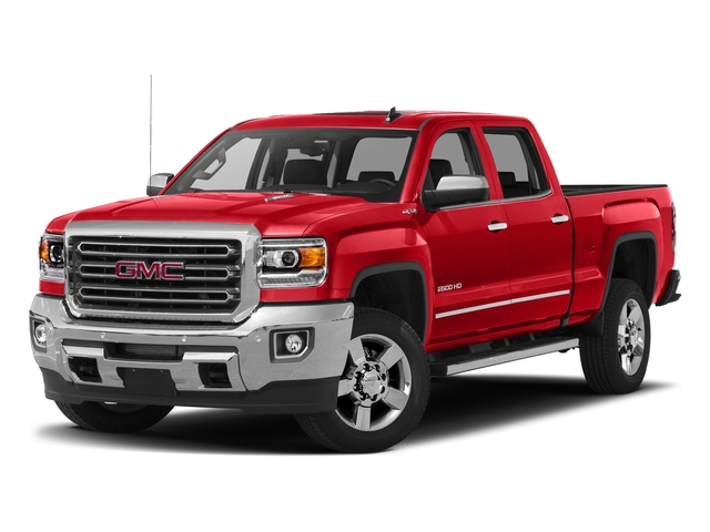 Cardinal Red 2016 GMC Sierra 2500HD Pictures Sierra 2500HD Crew Cab SLT 2WD photos front view