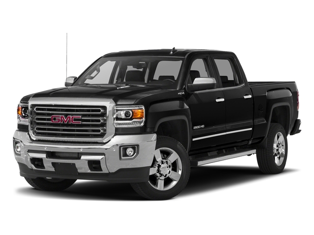 Onyx Black 2016 GMC Sierra 2500HD Pictures Sierra 2500HD Crew Cab SLT 2WD photos front view