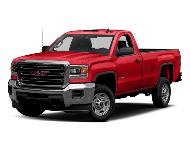 Cardinal Red 2016 GMC Sierra 2500HD Pictures Sierra 2500HD Regular Cab 4WD photos front view