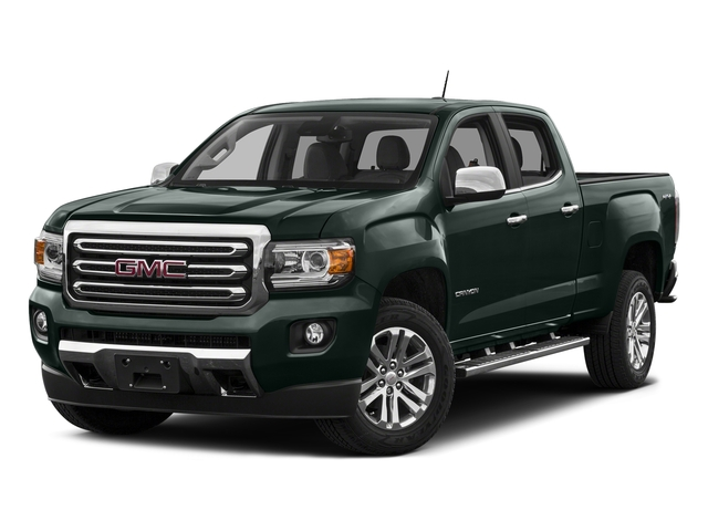 Emerald Green Metallic 2016 GMC Canyon Pictures Canyon Crew Cab SLT 4WD photos front view