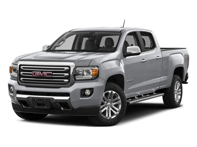 Quicksilver Metallic 2016 GMC Canyon Pictures Canyon Crew Cab SLT 4WD photos front view