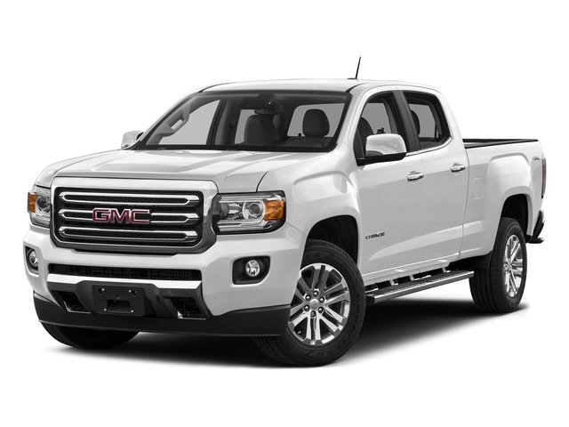 Summit White 2016 GMC Canyon Pictures Canyon Crew Cab SLT 4WD photos front view
