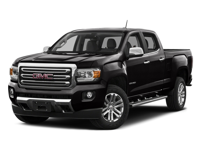 Onyx Black 2016 GMC Canyon Pictures Canyon Crew Cab SLT 4WD photos front view
