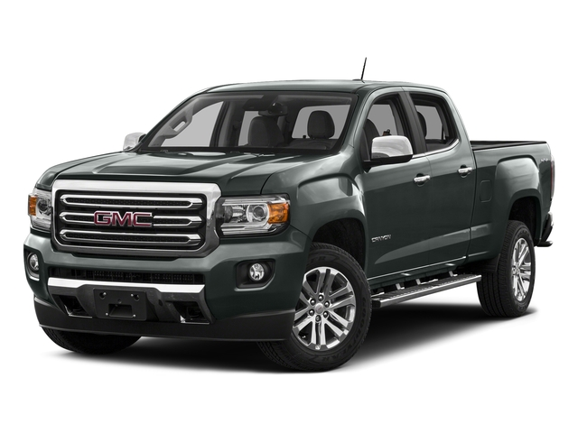 Cyber Gray Metallic 2016 GMC Canyon Pictures Canyon Crew Cab SLT 4WD photos front view