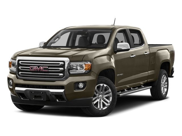 Bronze Alloy Metallic 2016 GMC Canyon Pictures Canyon Crew Cab SLT 4WD photos front view