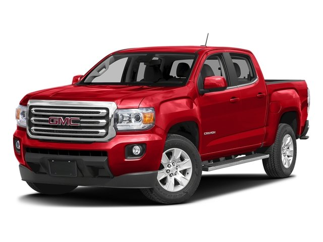 Cardinal Red 2016 GMC Canyon Pictures Canyon Crew Cab SLE 4WD T-Diesel photos front view