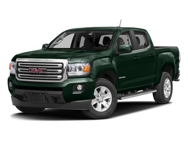 Emerald Green Metallic 2016 GMC Canyon Pictures Canyon Crew Cab SLE 2WD photos front view