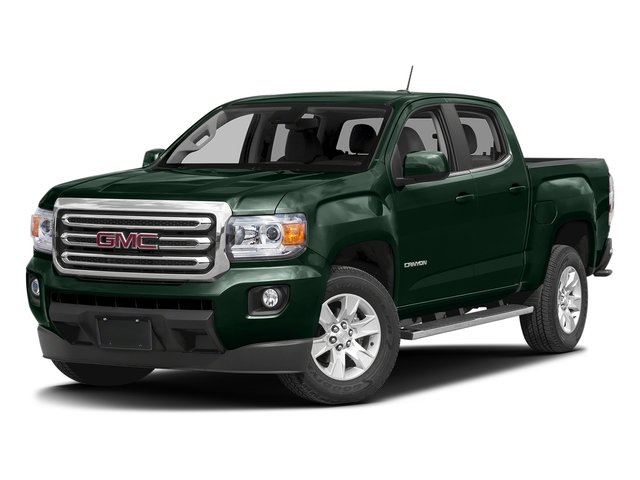 Emerald Green Metallic 2016 GMC Canyon Pictures Canyon Crew Cab SLE 4WD T-Diesel photos front view
