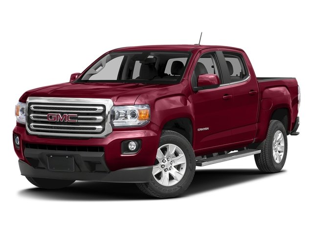 Copper Red Metallic 2016 GMC Canyon Pictures Canyon Crew Cab SLE 4WD T-Diesel photos front view