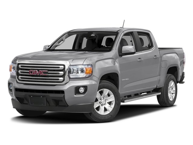 Quicksilver Metallic 2016 GMC Canyon Pictures Canyon Crew Cab SLE 4WD T-Diesel photos front view