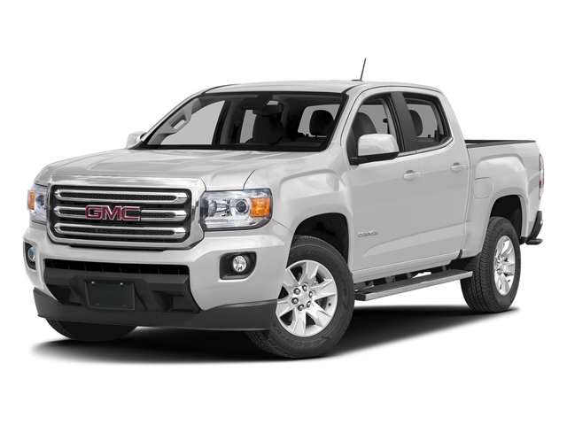 Summit White 2016 GMC Canyon Pictures Canyon Crew Cab SLE 2WD photos front view