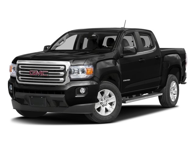 Onyx Black 2016 GMC Canyon Pictures Canyon Crew Cab SLE 2WD photos front view
