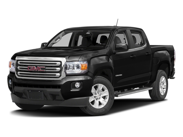 Onyx Black 2016 GMC Canyon Pictures Canyon Crew Cab SLE 4WD T-Diesel photos front view