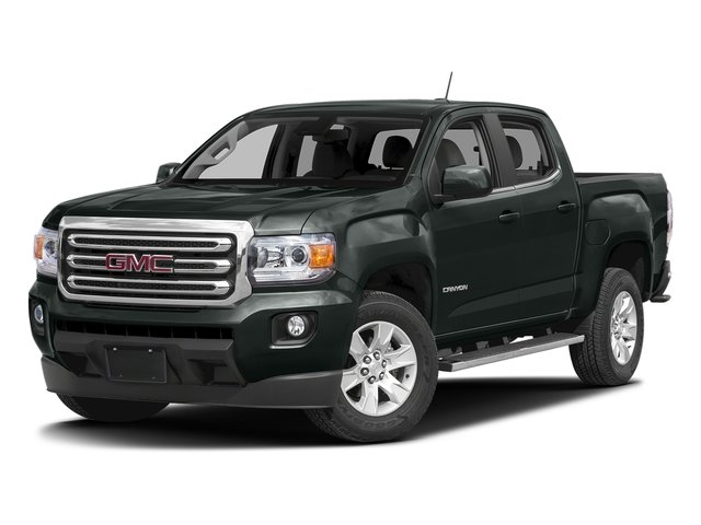 Cyber Gray Metallic 2016 GMC Canyon Pictures Canyon Crew Cab SLE 2WD photos front view