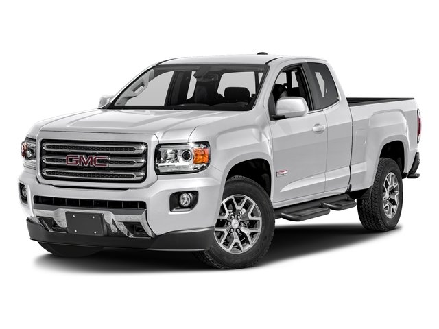 Quicksilver Metallic 2016 GMC Canyon Pictures Canyon Extended Cab SLE 4WD photos front view