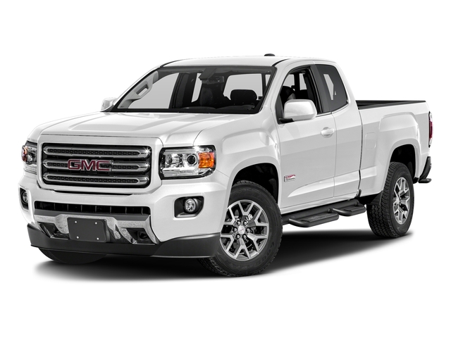 Summit White 2016 GMC Canyon Pictures Canyon Extended Cab SLE 4WD photos front view