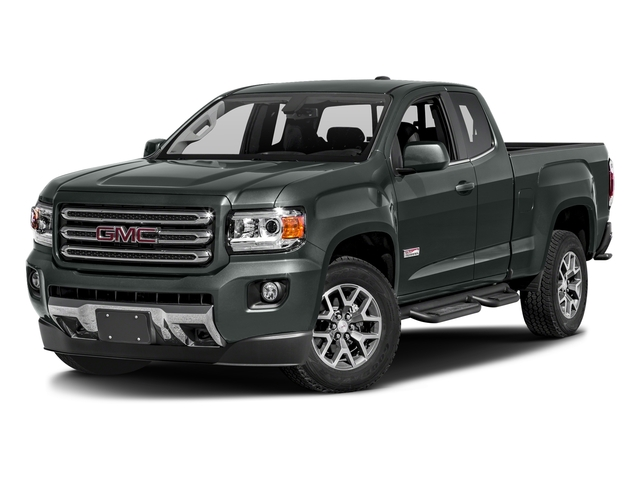 Cyber Gray Metallic 2016 GMC Canyon Pictures Canyon Extended Cab SLE 4WD photos front view