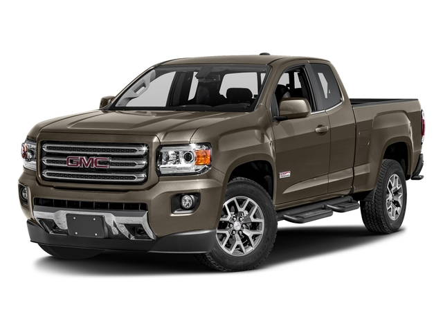 Bronze Alloy Metallic 2016 GMC Canyon Pictures Canyon Extended Cab SLE 4WD photos front view