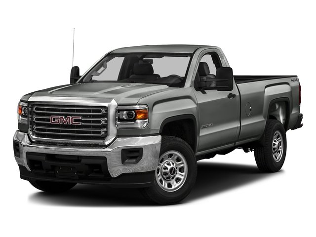 Light Steel Gray Metallic 2016 GMC Sierra 3500HD Pictures Sierra 3500HD Regular Cab 4WD photos front view