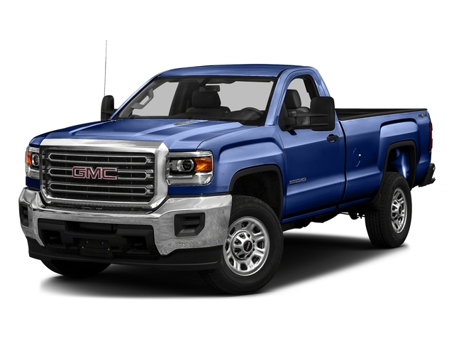 Stone Blue Metallic 2016 GMC Sierra 3500HD Pictures Sierra 3500HD Regular Cab 4WD photos front view