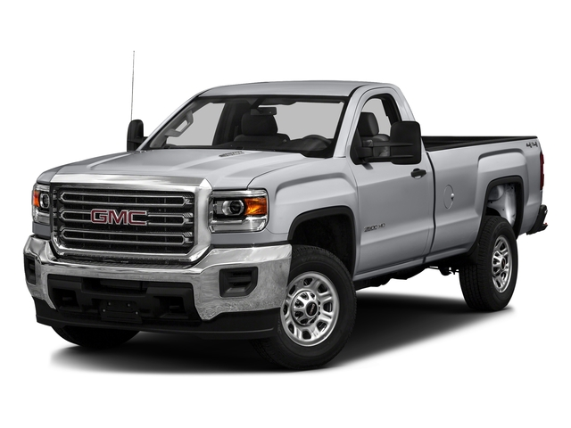 Quicksilver Metallic 2016 GMC Sierra 3500HD Pictures Sierra 3500HD Regular Cab 4WD photos front view