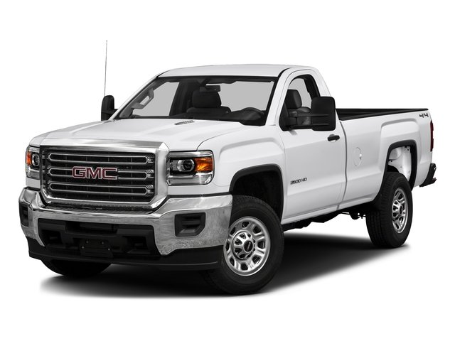 Summit White 2016 GMC Sierra 3500HD Pictures Sierra 3500HD Regular Cab 4WD photos front view