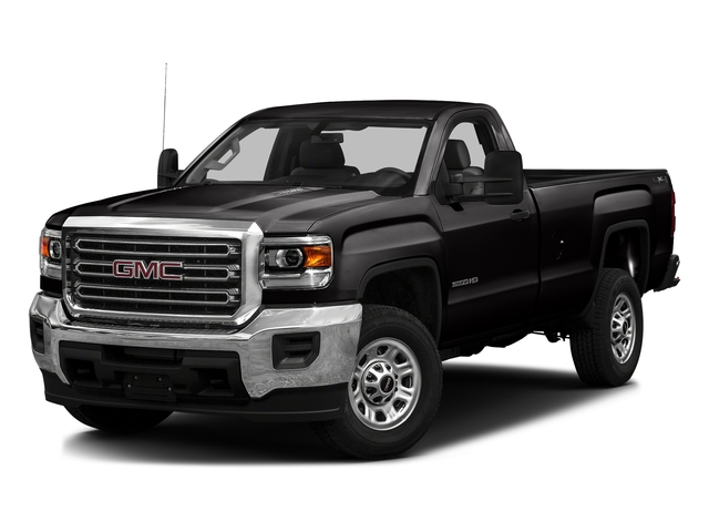 Onyx Black 2016 GMC Sierra 3500HD Pictures Sierra 3500HD Regular Cab 4WD photos front view