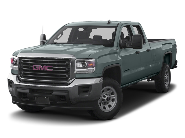 Light Steel Gray Metallic 2016 GMC Sierra 3500HD Pictures Sierra 3500HD Extended Cab 2WD photos front view