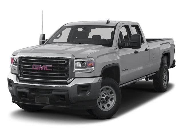 Quicksilver Metallic 2016 GMC Sierra 3500HD Pictures Sierra 3500HD Extended Cab 2WD photos front view