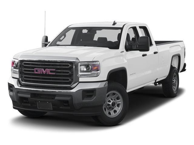 Summit White 2016 GMC Sierra 3500HD Pictures Sierra 3500HD Extended Cab 2WD photos front view