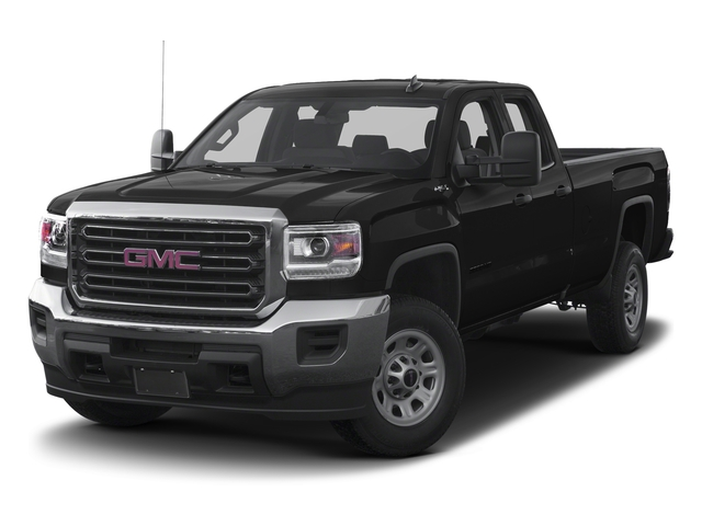 Onyx Black 2016 GMC Sierra 3500HD Pictures Sierra 3500HD Extended Cab 2WD photos front view