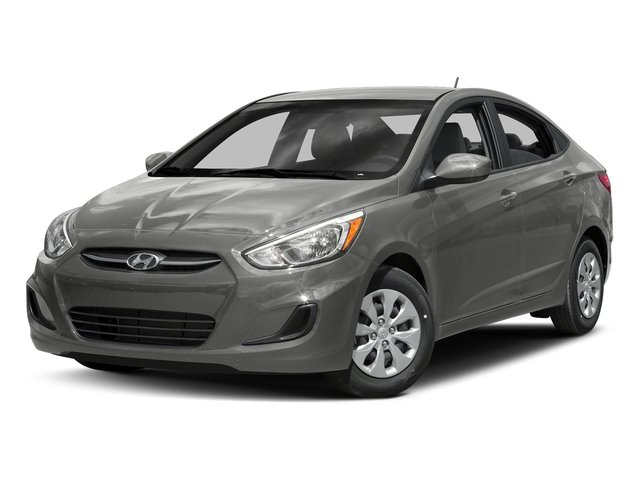 Ironman Silver Metallic 2016 Hyundai Accent Pictures Accent Sedan 4D SE I4 photos front view