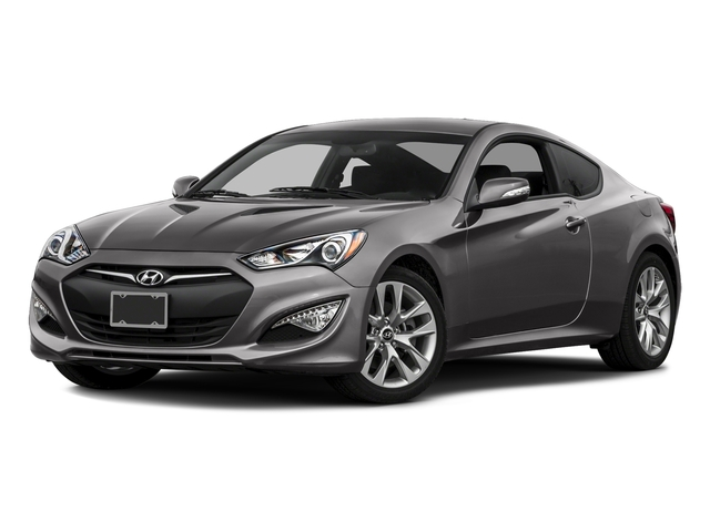 Empire St Gray Metallic 2016 Hyundai Genesis Coupe Pictures Genesis Coupe 2D Ultimate V6 photos front view