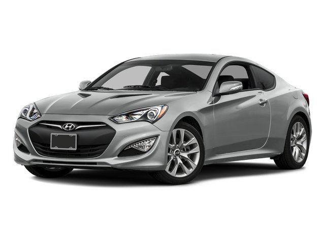 Santiago Silver Metallic 2016 Hyundai Genesis Coupe Pictures Genesis Coupe 2D Ultimate V6 photos front view