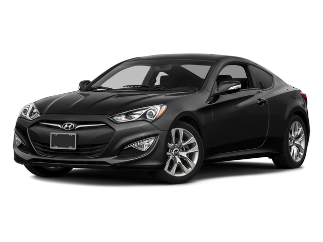 Caspian Black Pearl 2016 Hyundai Genesis Coupe Pictures Genesis Coupe 2D Ultimate V6 photos front view