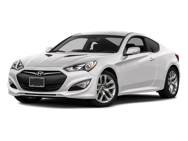 Casablanca White Pearl 2016 Hyundai Genesis Coupe Pictures Genesis Coupe 2D Ultimate V6 photos front view