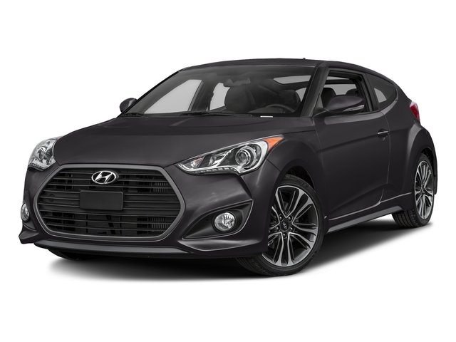 Ultra Black 2016 Hyundai Veloster Pictures Veloster Coupe 3D I4 Turbo photos front view