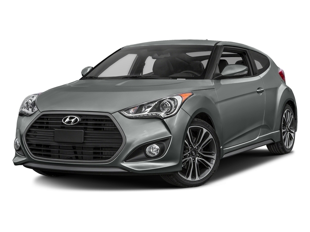 Matte Gray 2016 Hyundai Veloster Pictures Veloster Coupe 3D I4 Turbo photos front view