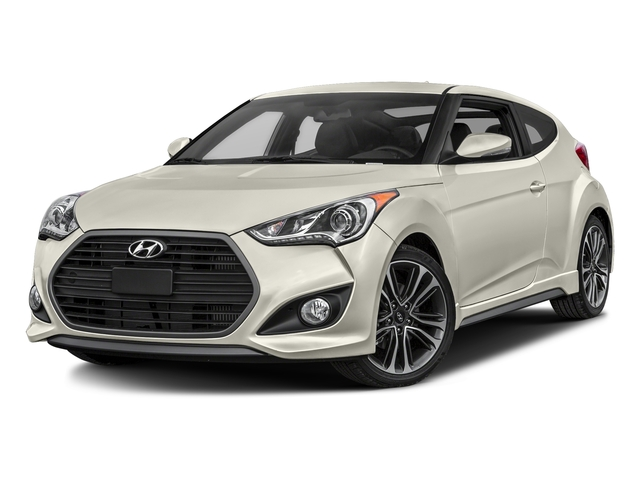 Elite White 2016 Hyundai Veloster Pictures Veloster Coupe 3D I4 Turbo photos front view