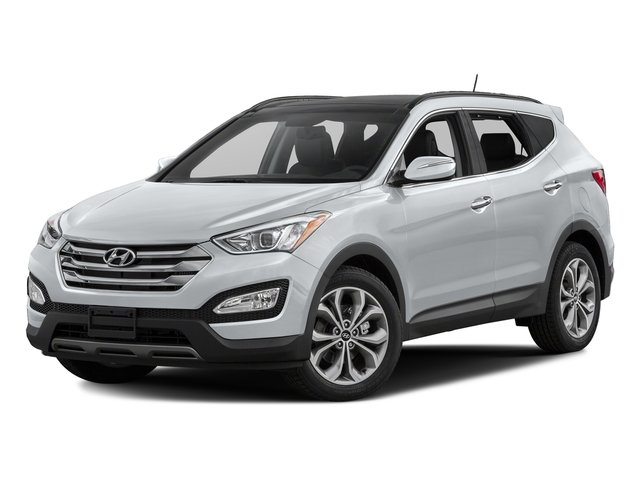 Frost White Pearl 2016 Hyundai Santa Fe Sport Pictures Santa Fe Sport Utility 4D Sport 2.0T AWD photos front view