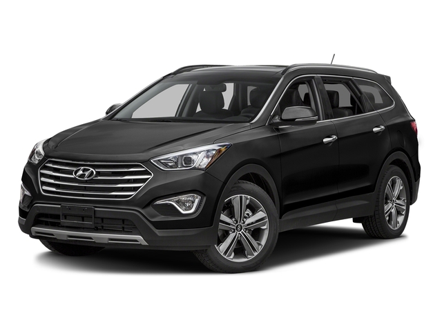 Becketts Black 2016 Hyundai Santa Fe Pictures Santa Fe Utility 4D Limited AWD photos front view